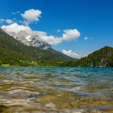 Hintersteiner See – Fotos zur Wanddekoration